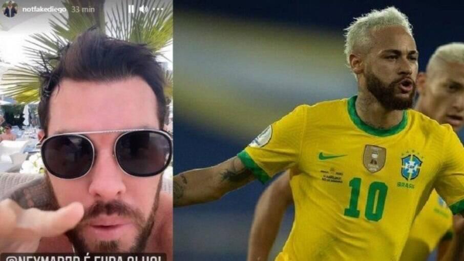 Neymar e ex-parça