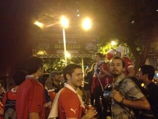 Clima de azaração entre estrangeiros e brasileiros tomou conta da Savassi