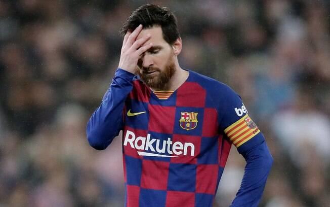 Messi está no Barcelona desde 2000, quando chegou às categorias de base