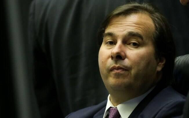 Presidente da Câmara dos Deputados Rodrigo Maia