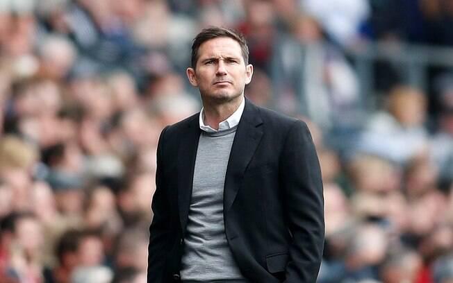 Atualmente no Derby County, Frank Lampard pode assumir o Chelsea na próxima temporada.