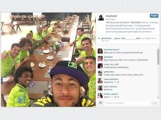 Neymar é o jogador da Copa do Mundo com mais seguidores no Instagram