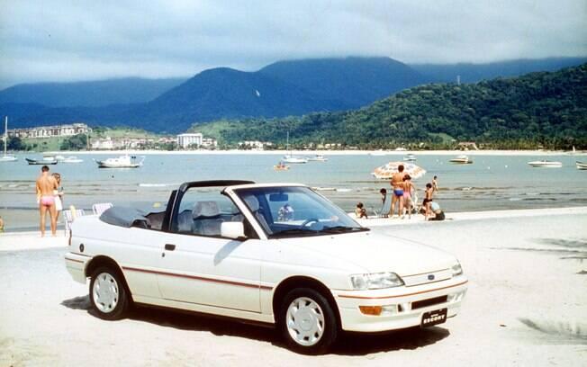 Ford Escort XR3 2.0 Conversível foi objeto de desejo nos anos 80 e 90 no Brasil. Na imagem a versão feita nos tempos de Autolatina