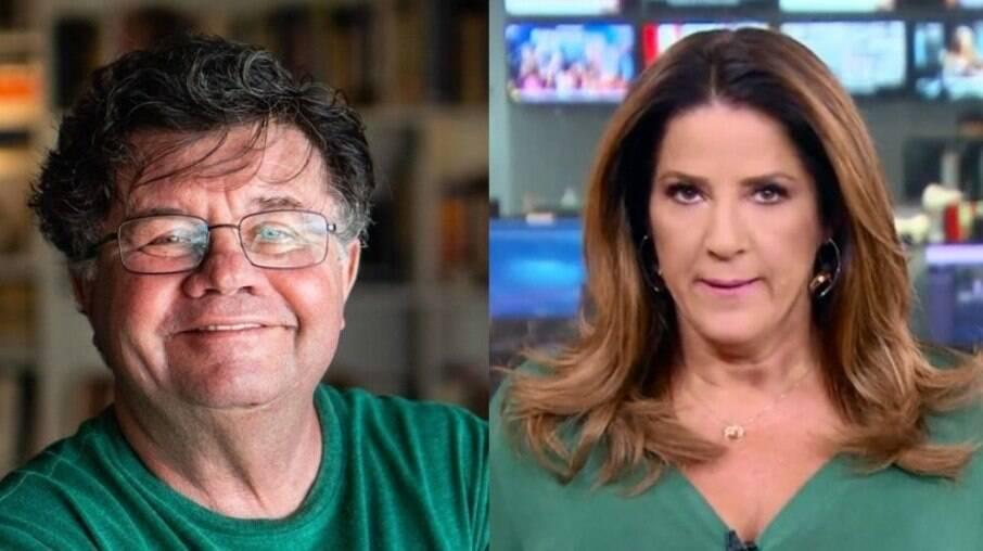 Marcelo Madureira e Christiane Pelajo
