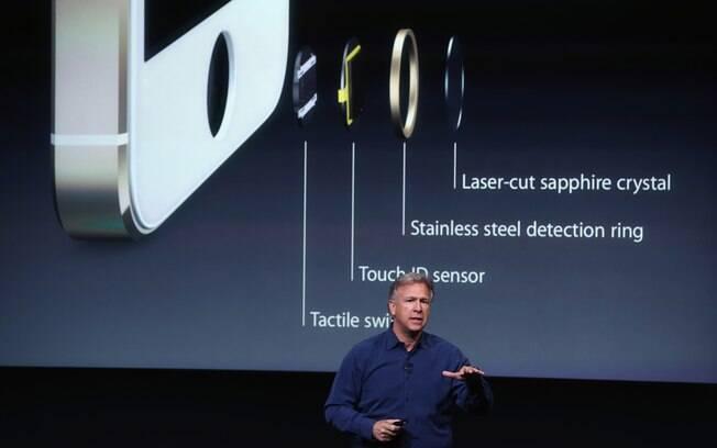 Novo iPhone 5S tem sensor que lê digitais