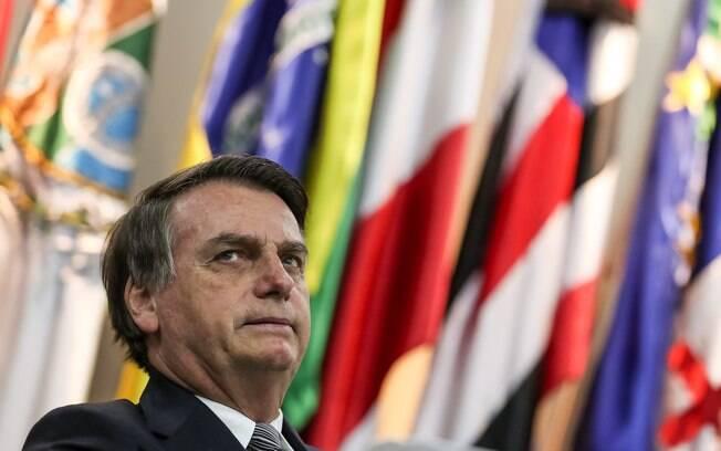 Presidente Bolsonaro esteve em evento realizado por uma igreja evangélica de Brasília