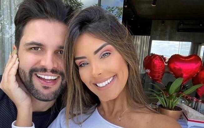 Ivy Moraes e o maridão