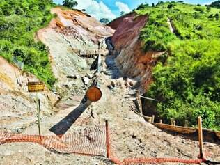 Destruição.  Água usada por quatro minerodutos que atuam no Estado representa um quarto de todo o consumo de Belo Horizonte