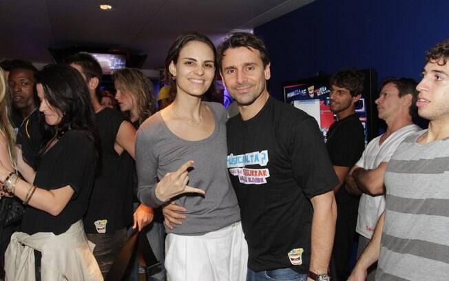 Murilo Rosa e Fernanda Tavares