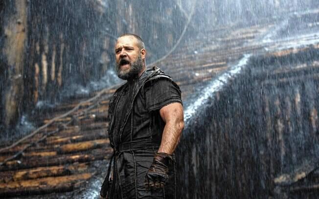 Noé' (2014), de Darren Aronofsky, uniu espetáculo e história bíblica num filme polêmico e com boa bilheteria. Foto: Divulgação