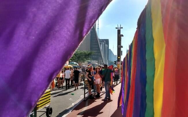 Parada do Orgulho LGBT em São Paulo tem como uma de suas lutas a diminuição de mortes de LGBT