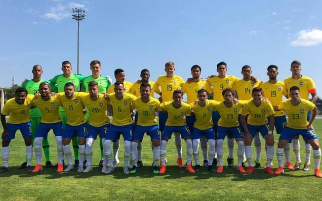 A seleção sub 22 do Brasil venceu o Japão nos pênaltis e conquistou o título do Torneio de Toulon