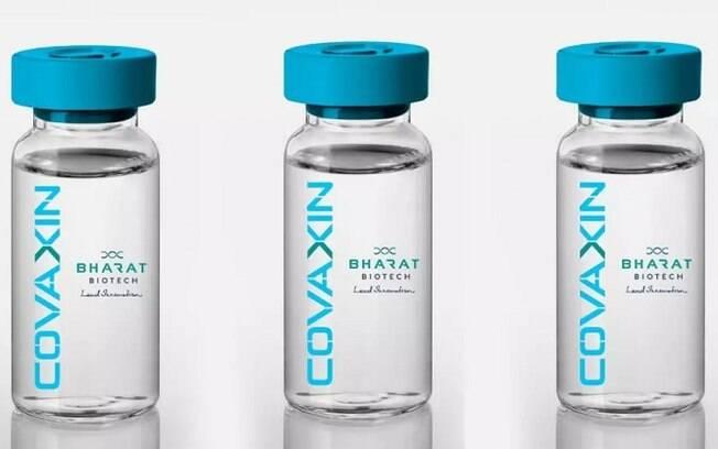 Vacina Covaxin, desenvolvida pelo laboratório Bharat Biotech