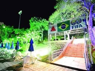 Estrutura. Camping para a Copa do Mundo será a menos de 3 km do Mineirão e vai usar estrutura de um clube no bairro Ouro Preto