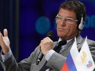 Capello anunciou a pré-lista da Rússia nesta segunda-feira