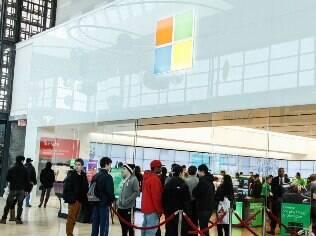 Loja da Microsoft em Toronto (Canadá): empresa tem mais de 100 espaços de venda na América do Norte