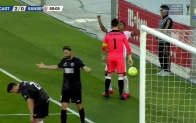 Rodrygo foi expulso em comemoração de gol do Real Madrid