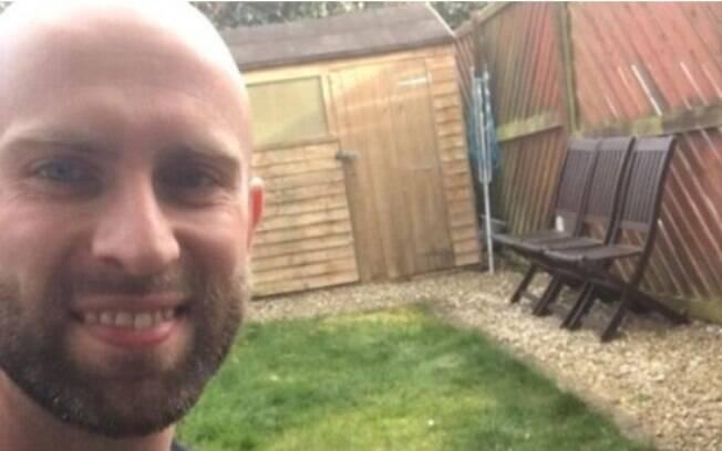 James correu durante cinco horas e transmitiu nas redes sociais.