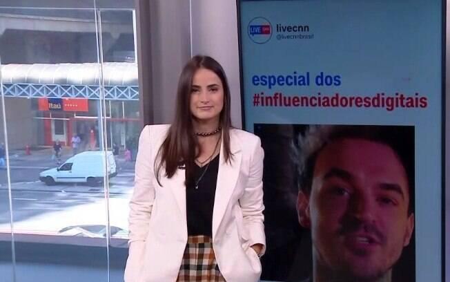 Mari Palma na CNN Brasil