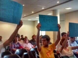 Proposta de reajuste da Sabesp foi recebida com protesto durante a audiência pública