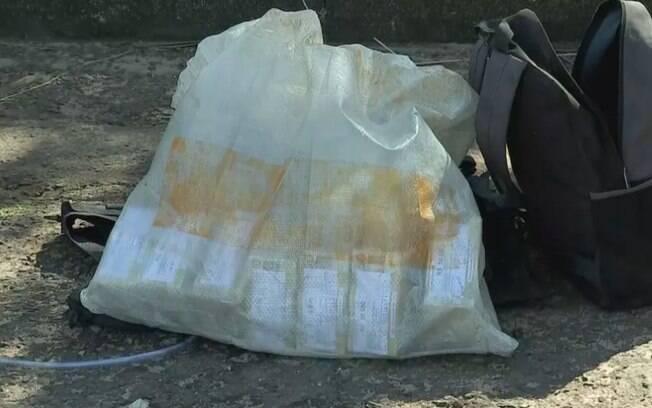 Polícia encontrou parte do dinheiro roubado dentro de carro em Botucatu