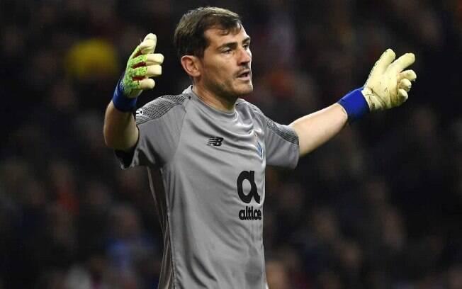Iker Casillas precisou passar por cirurgia após sofrer infarto