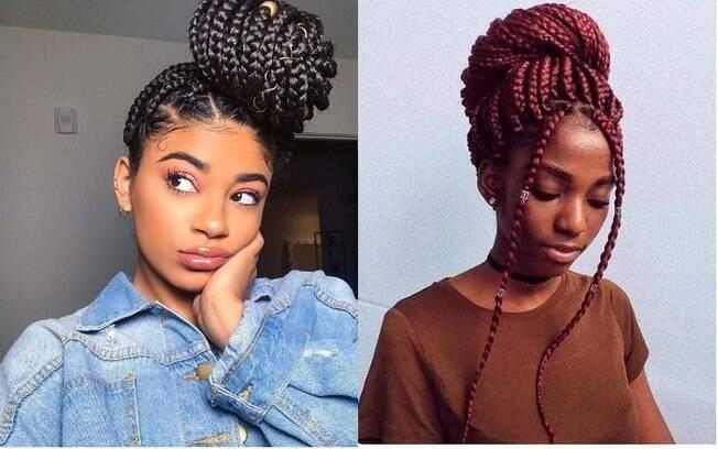 Dicas de beleza: as box braids tomaram conta dos cabelos afro, trazendo as mulheres negras de volta às raízes