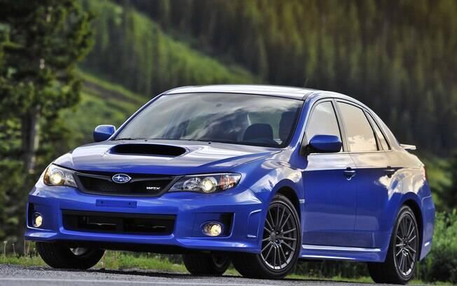 Entre os carros que saíram de linha, o Subaru WRX da antiga geração não utilizava câmbio automático do tipo CVT