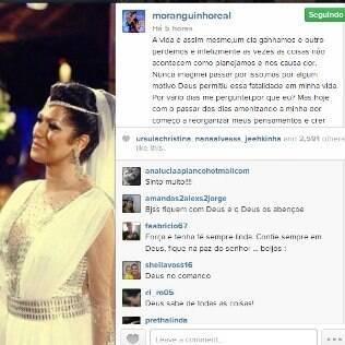 Mulher Moranguinho usa rede social para desabafar: 'Por que eu?'