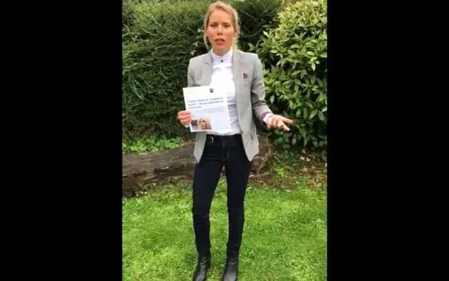 Campanha lançada pela filha de Brigitte Macron pede que pessoas lutem contra misoginia