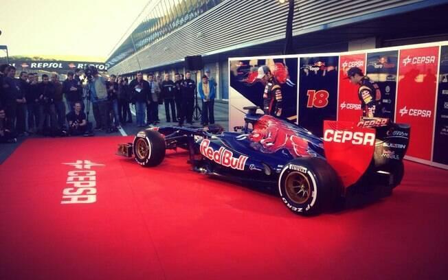 Nova Toro Rosso teve poucas mudanças com  relação a 2012