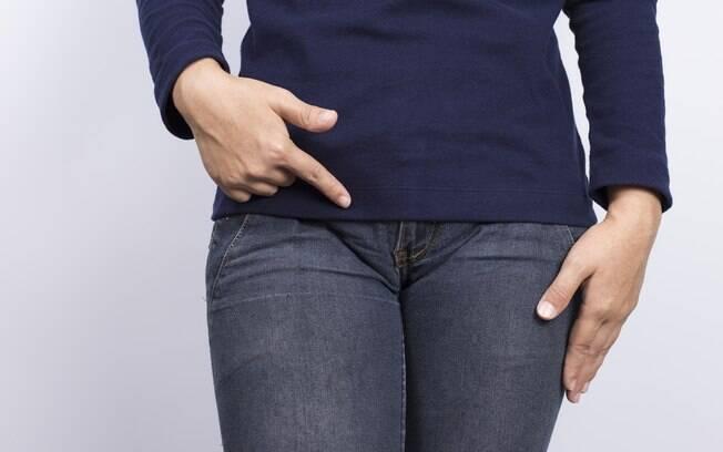 vagina aufpumpen knallenge jeans
