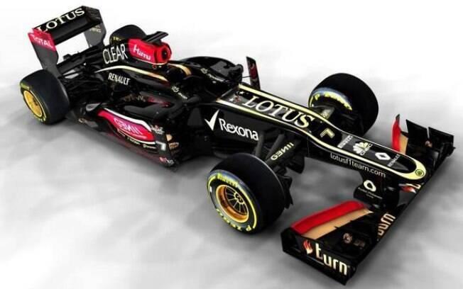 A Lotus foi a primeira equipe a apresentar o  carro para a temporada