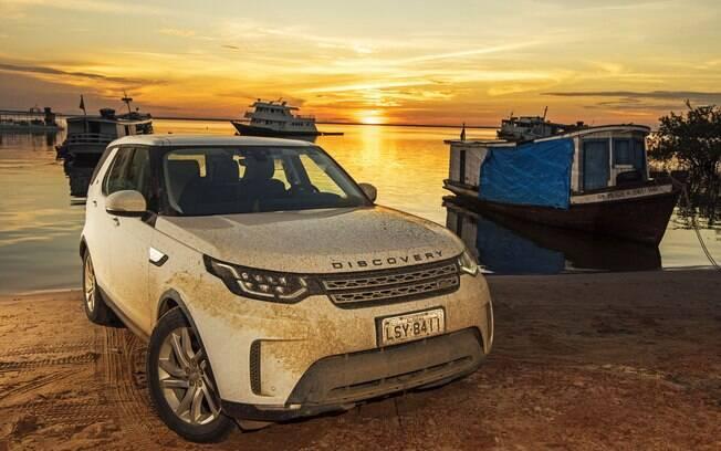 O Land Rover Discovery foi protagonista em uma grande e longa expedição pela bela região de Santarém, no Pará