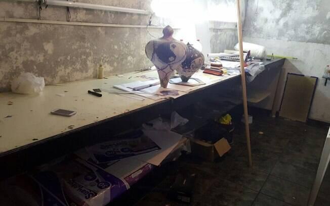 O material apreendido foi encontrado após uma denúncia anônima recebida pela Polícia Militar Ambiental