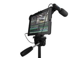 iPad também como filmadora