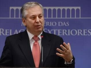 O ministro das Relações Exteriores, Luiz Alberto Figueiredo Machado, fala sobre a situação na Síria