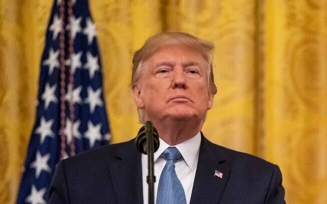 O presidente do EUA, Donald Trump