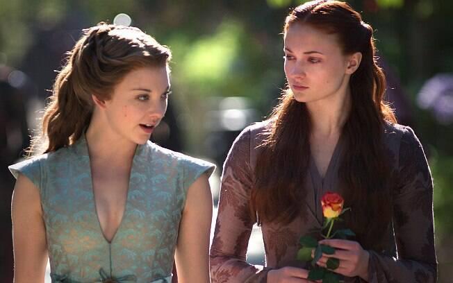 Natalia Dormer e Sophie Turner