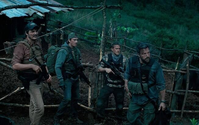 Cena de Operação Fronteira, já disponível na Netflix