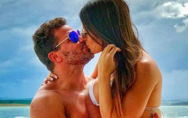 Eduardo Costa e sua ex-noiva