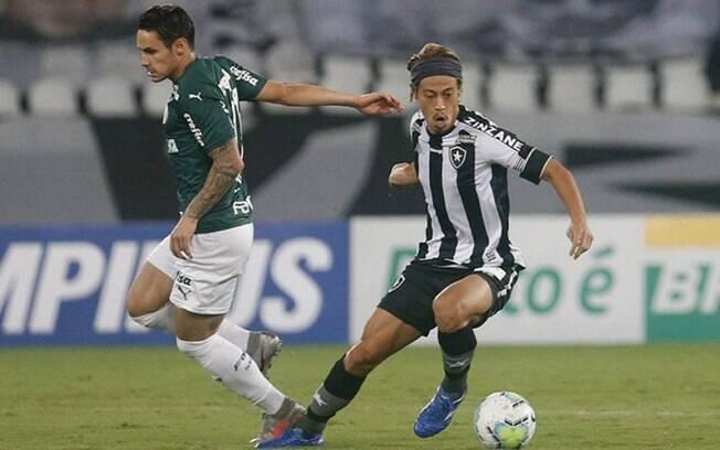Botafogo vence, sai do Z4 e dá fim a série invicta do Palmeiras no BR