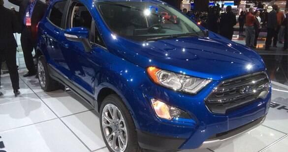 Ford EcoSport renovado tem chegada confirmada ao Brasil em meados do ano