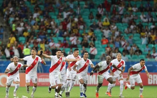 Peru é semifinalista da Copa América