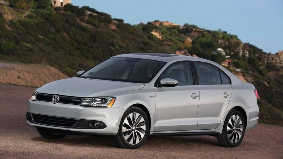 Volkswagen Jetta Hybrid:  sedã híbrido seria uma boa pedida no Brasil, onde a marca não tem nenhum eletrificado hoje em dia