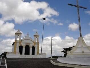 Igreja de Santo Antônio fica localizada no alto da Colina de Santo Antônio