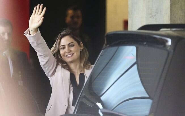 Michelle Bolsonaro tem agenda de visitas ao Palácio do Alvorada e à Granja do Torto