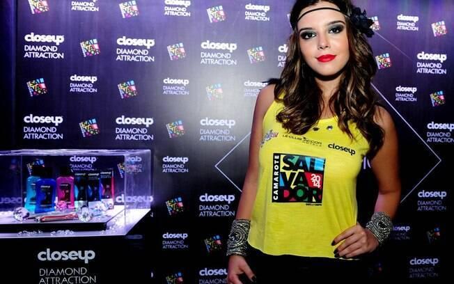 Giovanna Lancellotti curte o carnaval de Salvador
