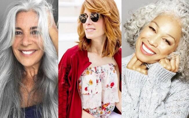 Idade não impediu que estas mulheres, com perfis no Instagram, fossem atrás de seus sonhos e conquistassem espaço