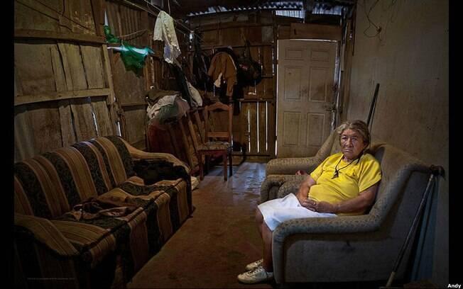 Em La Carpio, na Costa Rica, Goldstein encontrou Josefa Amalia Torre Chavarría, uma imigrante nicaraguense de 78 anos. Foto: Andy Goldstein